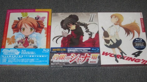 February 2012 DVD/BD Import Loot (Part 1)