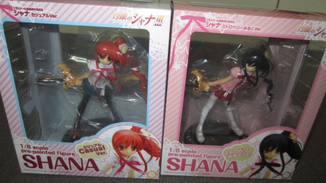 New Shana Figures