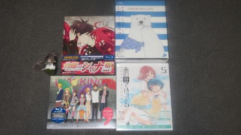 August 2012 DVD/BD Import Loot (Part 1)