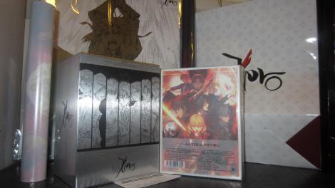 September 2012 DVD/BD Import Loot (Fate/ZERO BD Box II)