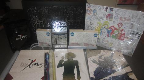 Fate/ZERO BD Box I & II (With Animate & Ufotable Store Exclusives)