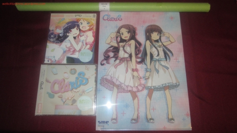 ClariS - Reunion CD Singles Loot