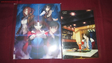 ACE2013 Kara no Kyoukai Movie Tickets + Ufotable Dining Exclusive Limited Postcard