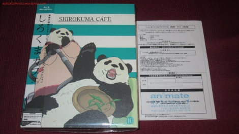 Shirokuma Cafe Animate LE BD Volume 10