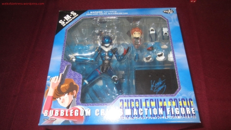 Bubblegum Crisis Action Figure: Priss Asagiri (Atelier Sai)